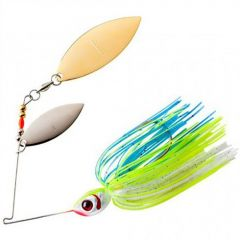 Spinnerbait Booyah Double Willow Blade 3/8oz - Citrus Shad