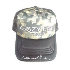Sapca Crazy Fish Trucker Pro