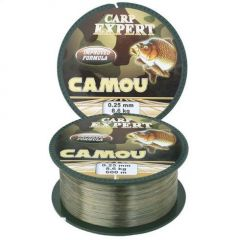 Fir monofilament Carp Expert Camou 0,25mm 600m