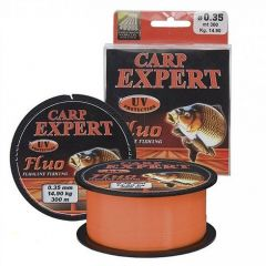 Fir monofilament Carp Expert UV Fluo-Orange 0,30mm 300m