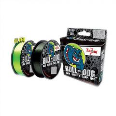 Fir monofilament Carp Zoom Bull Dog 0,31mm/12,65kg/1000m - Dark Green