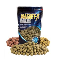 Boilies Carp Zoom Magnet-X Spicy Sausage Chilli Robin Red, 800g