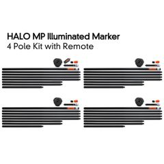 Fox Halo Illuminated Marker 4 Pole Kit