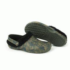 Papuci Fox Chunk Camo Fleece Clogs, marimea 42