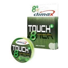 Fir textil Climax Touch 8+ Chartreuse Fluo 0.22mm/21.5kg/135m