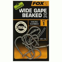 Carlige Fox Edges Wide Gape Beaked X Nr.2
