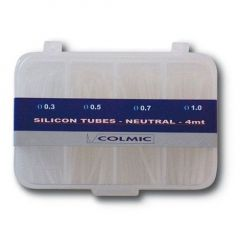 Cutie tub silicon mixt colmic  1mm/1.2mm/1.5mm/2mm - 4m