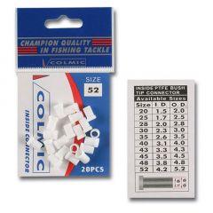 Teflon intern Colmic pentru elastic nr.25 1,75mm-2,5mm set/20buc.