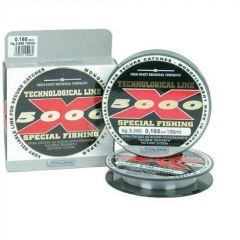 Fir monofilament Colmic X-5000 0,10mm/1,38kg/150m