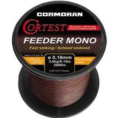 Fir monofilament Cormoran Cortest Feeder Mono 0,20mm/4,2kg/2200m