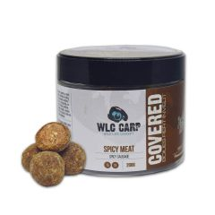 Boilies WLC Carp Covered Spicy Meat - Spicy Sausage