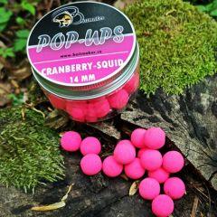 Boilies Baitmaker Pop-Ups 11mm - Cranberry&Squid