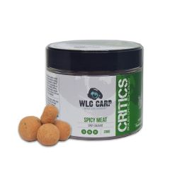 Boilies WLC Carp Critics Spicy Meat - Spicy Sausage