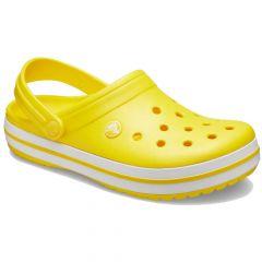 Crocs Crocband Lemon White, marime M8 W10