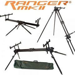 Rod Pod Fox Ranger MK2 4 posturi