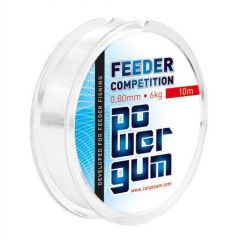 Carp Zoom Power Gum Feeder Competition 1.00mm/8kg/10m