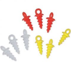 Stopper Carp Zoom Pop Up Pegs - Rosu