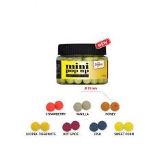 Boilies Carp Zoom Mini Pop-Up Honey 10mm