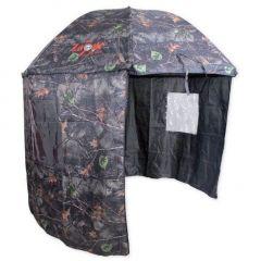 Umbrela Carp Zoom cu parasolar camou 250cm