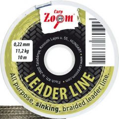 Fir textil Carp Zoom Leader Sinking Green 0,22mm/11,2kg/10m