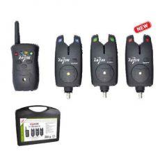 Set 3 avertizori + statie Carp Zoom V-Sat K-470