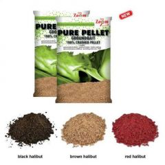 Nada Carp Zoom Pure Pellet Black Halibut