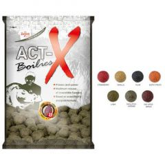 Boilies Carp Zoom Act-X Plum 20mm, 800gr