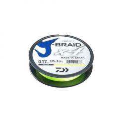 Fir textil Daiwa J-Braid 4X Yellow 0.19mm/10.2kg/135m