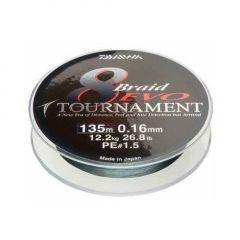 Fir textil Daiwa Tournament 8 Braid EVO Dark Green 0.18mm/15.8kg/300m
