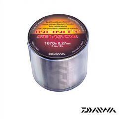 Fir monofilament Daiwa Infinity Sensor 0.27mm/5.4kg/1670m
