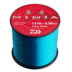 Fir monofilament Daiwa Ninja X Blue 0.30mm/6.6kg/1210m