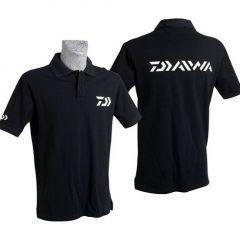 Tricou polo Daiwa negru, marime L