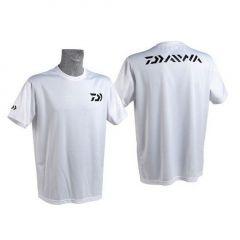 Tricou Daiwa Fast Dry alb, marime L
