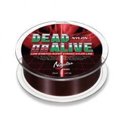 Fir monofilament Varivas Dead or Alive Brown 12lb, 150m