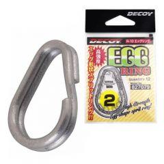 Inele despicate Decoy Egg Ring Silver R-10 Nr.4