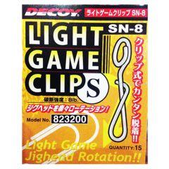 Agrafe Decoy Light Game Clip SN-8 S