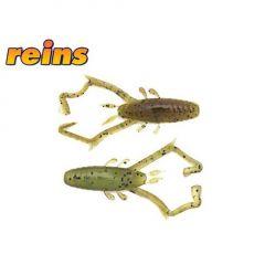 """Creature Reins Delta Shrimp Laminat 2"""" - Green Pumpkin/Chartreuse"""