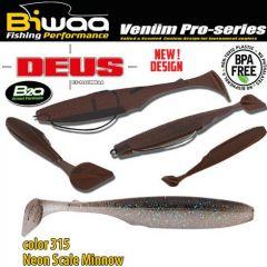 Shad Biwaa Deus 7.5cm, culoare 310 Neon Scale Minnow