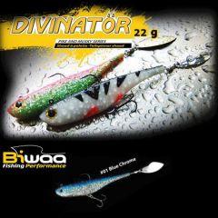 Shad Biwaa Divinator Junior 14cm/22g, culoare Blue Chrome