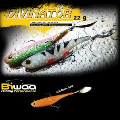 Shad Biwaa Divinator Junior 14cm/22g, culoare Orange Gold