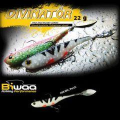 Shad Biwaa Divinator Junior 14cm/22g, culoare White Perch