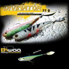 Shad Biwaa Divinator Junior 14cm/22g, culoare Herring