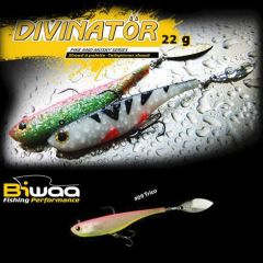 Tailspinner Shad Biwaa Divinator JR 14cm, culoare Trico