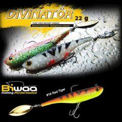 Shad Biwaa Divinator Junior 14cm/22g, culoare Red Tiger