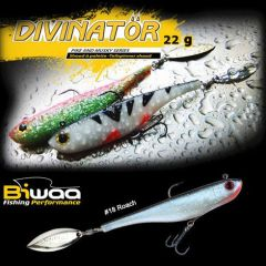 Shad Biwaa Divinator Junior 14cm/22g, culoare Roach