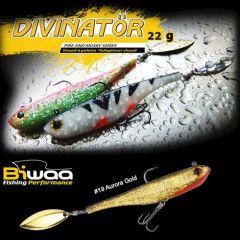 Shad Biwaa Divinator Junior 14cm/22g, culoare Aurora Gold
