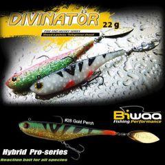 Shad Biwaa Divinator Junior 14cm/22g, culoare Gold Perch