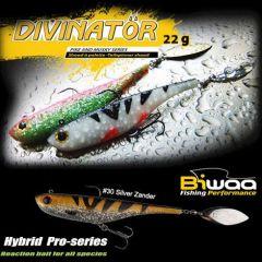 Shad Biwaa Divinator Junior 14cm/22g, culoare Silver Zander