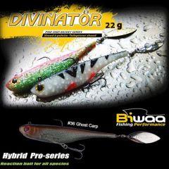 Shad Biwaa Divinator Junior 14cm/22g, culoare Ghost Carp