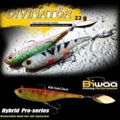 Shad Biwaa Divinator Junior 14cm/22g, culoare Gold Devil
